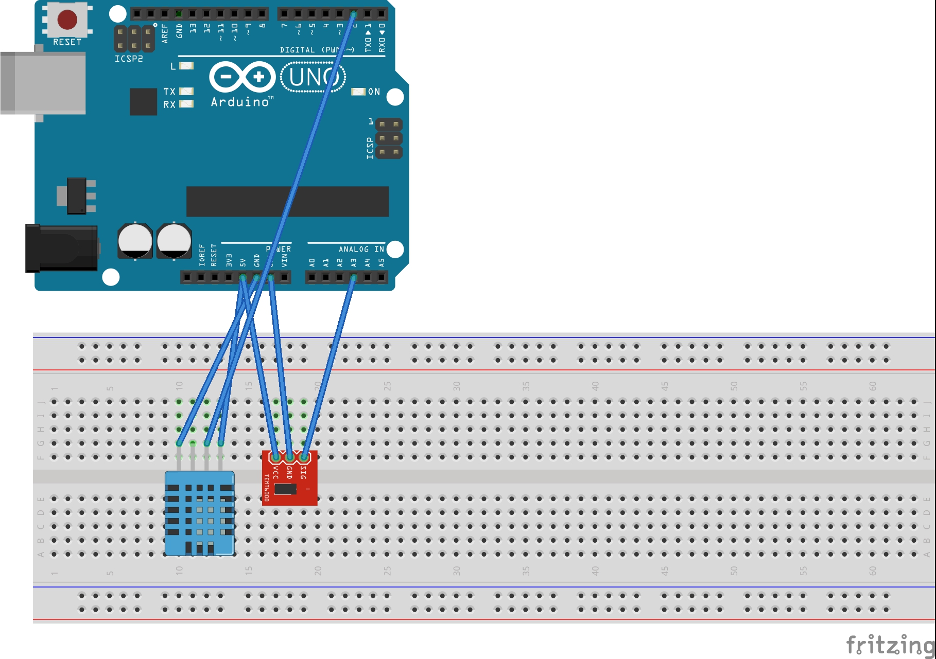 Arduino dht light sensor fennecelectronics